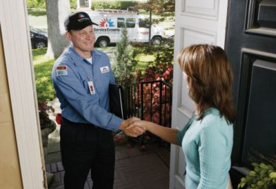 in-home estimate from Coastal Service Experts Heating & Air Conditioning