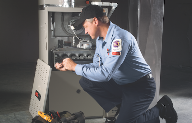 HVAC repair technician